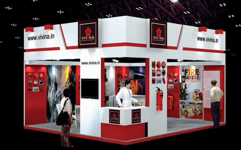 3d Exhibition Booth Design : Gallery d exhibition stall booth design fabrication mumbai